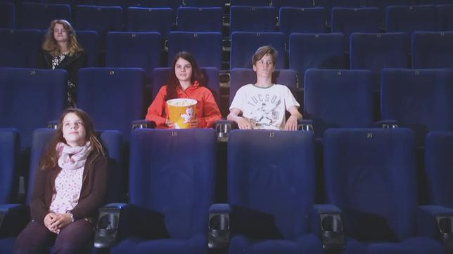 Kinder im Kino