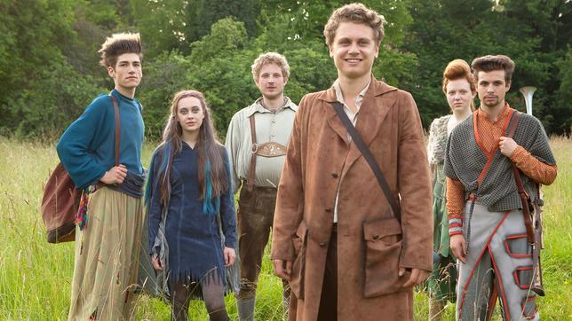 Sechs auf einen Streich Sechse kommen durch die ganze Welt Märchenfilm Deutschland 2014: Ella, Jasper, Benjamin, Markus, Flora, Lisa und Lukas
