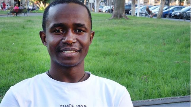 Ein junger Mann namens Mamadou