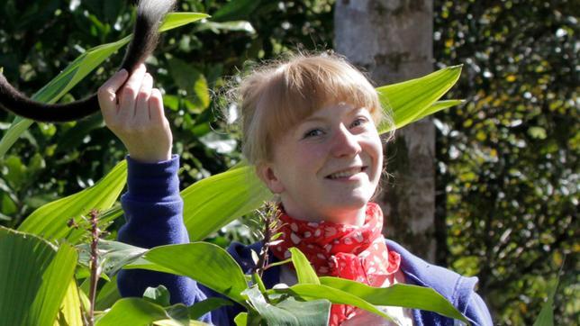 Paula und ein Baumkänguru