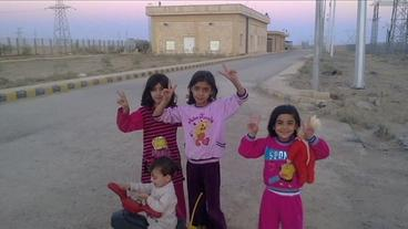 Flüchtlingskind Tiba