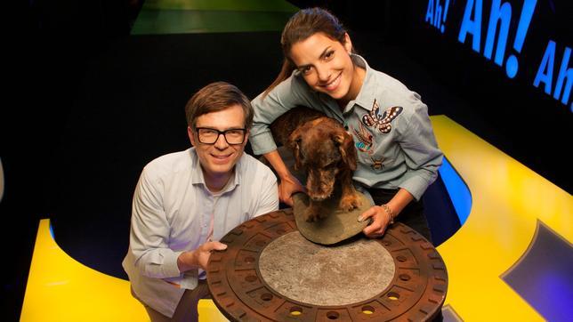 Clarissa und Ralph im Studio