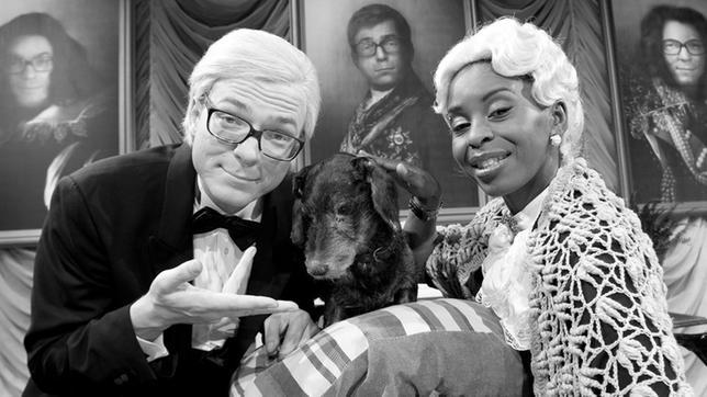 Shary und Ralph spielen den Sylvesterklassiker.