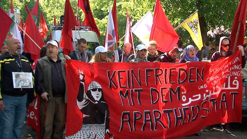 Eine Demonstration in Berlin