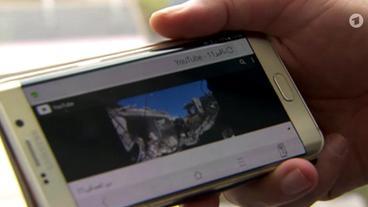 Video auf einem Handy