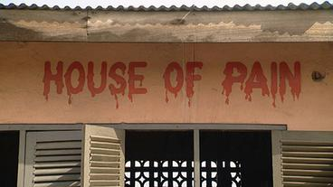 "Der Boxclub ""House of Pain"" in Accra, Ghana."