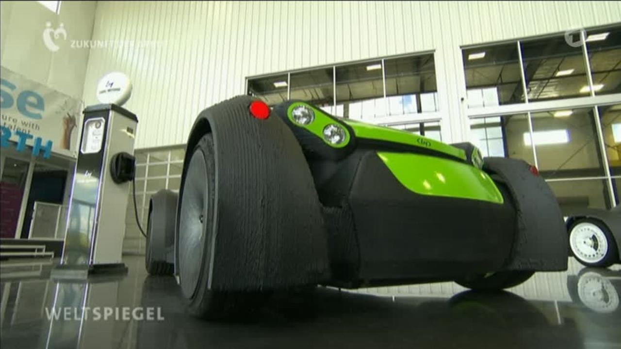 Video: USA: Autos aus dem 3D-Drucker? - Weltspiegel - ARD | Das Erste