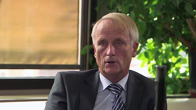 Dr. Jens Schaps von der Europäischen Kommission