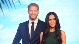 Harry und Meghan als Wachsfiguren bei Madame Tusseauds in London