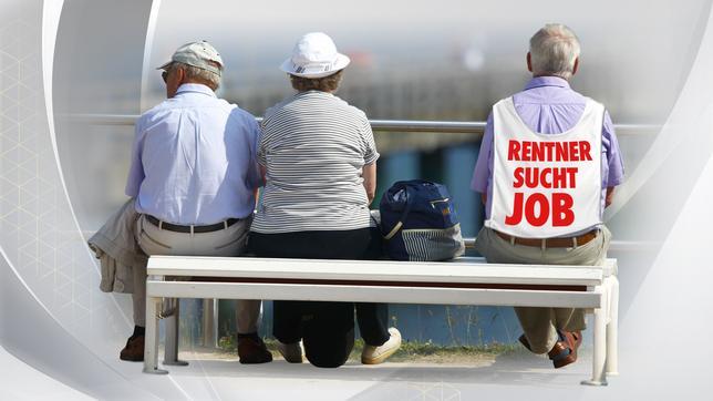 Rentner auf Jobsuche