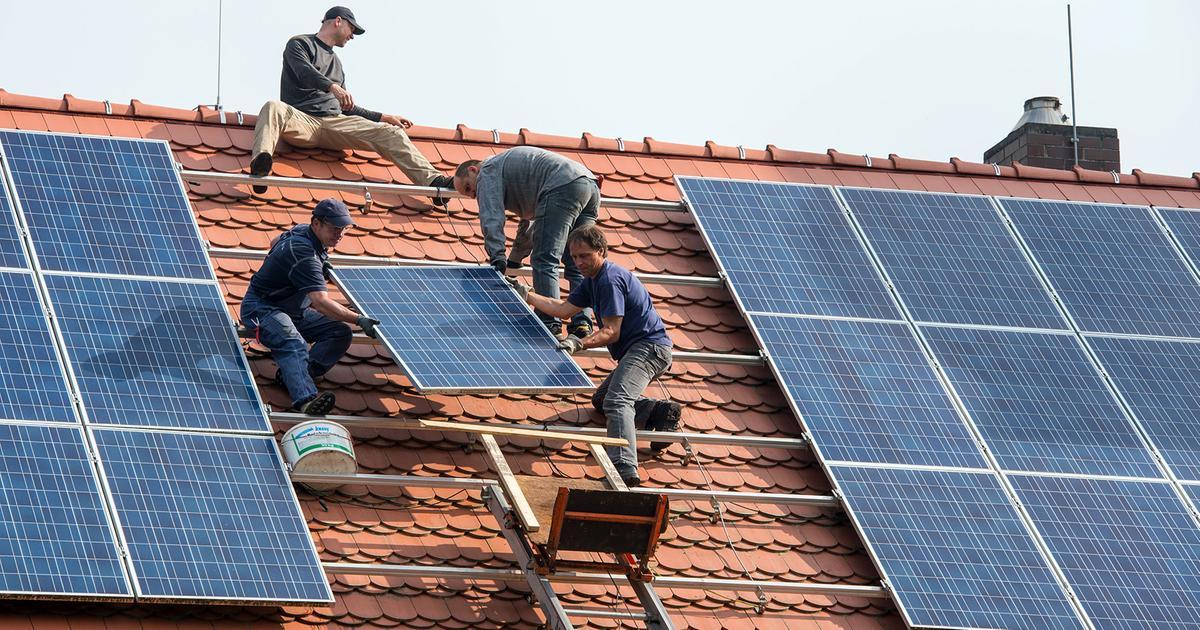 Solaranlage kocht