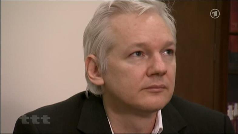 Folter gegen Julian Assange | ttt – titel, thesen, temperamente