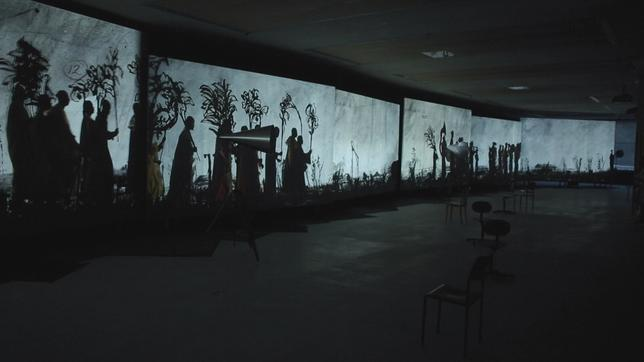 Installation von William Kentridge