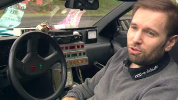 Alexander Günnewig und sein DeLorean DMC-12-Umbau zur Zeitmaschine aus der ...