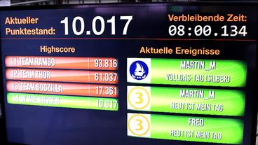 Highscore-Tabelle einer Gamification Anwendung