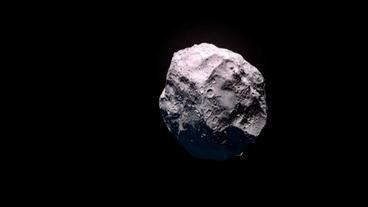 komet bedroht die erde