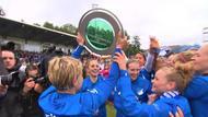 Spielerinnen der TSG Hoffenheim