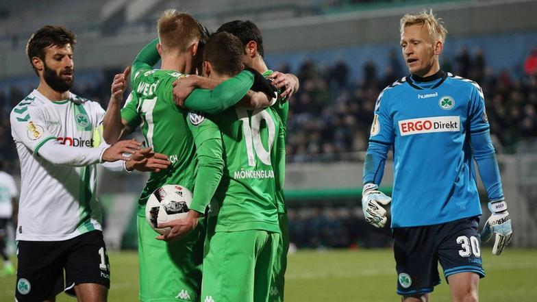 Video Fürth gegen Mönchengladbach  Sportschau  ARD