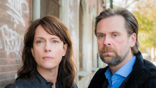 Hauptkommissarin Doreen Brasch (Claudia Michelsen) und Hauptkommissar Dirk Köhler (Matthias Matschke)