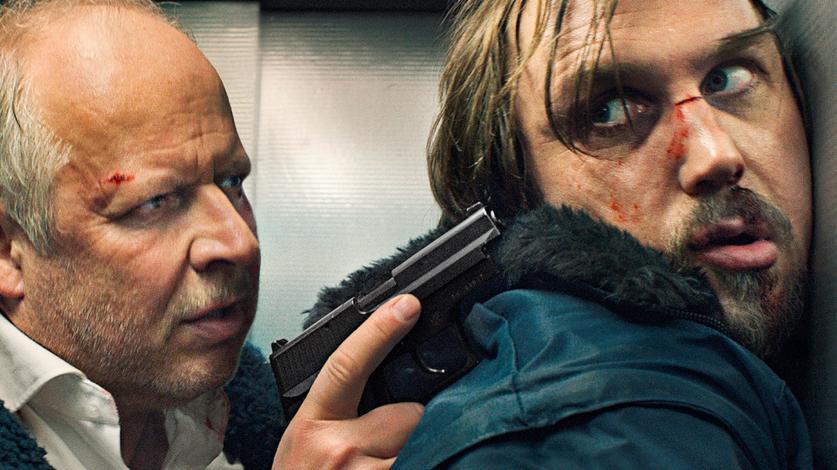 Tatort: Kommissar Klaus Borowski (Axel Milberg) mit Serienkiller Kai Korthals (Lars Eidinger).