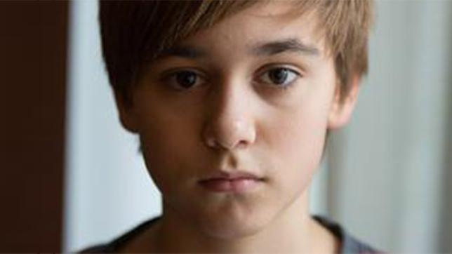 Louie Betton ist Kaleb Rubin (13)