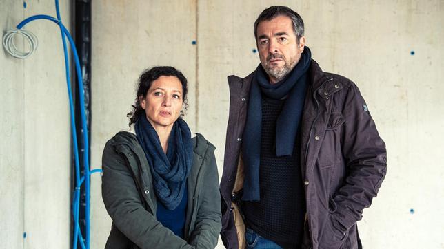 Liz Ritschard (Delia Mayer) und Reto Flückiger (Stefan Gubser)
