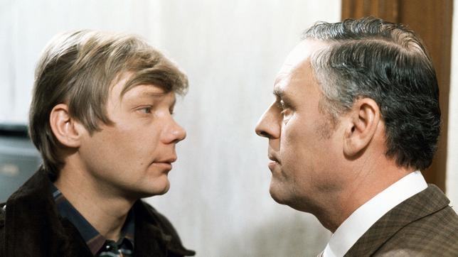 Jürgen Fischer und Kommissar Konrad