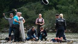 "Am ""Tatort""-Set: An der Isar."