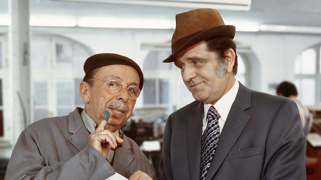 Kommissar Lutz und Ewald Eckstein