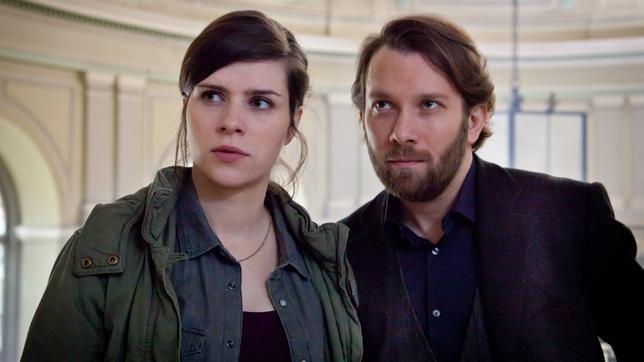 Nora Tschirner als Kira Dorn und Christian Ulmen als Lessing