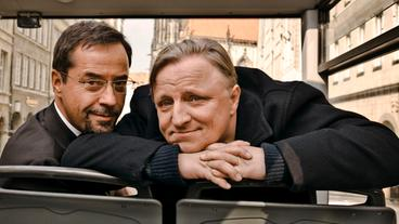 Kommissar Frank Thiel (l.) und Prof. Karl-Friedrich Boerne