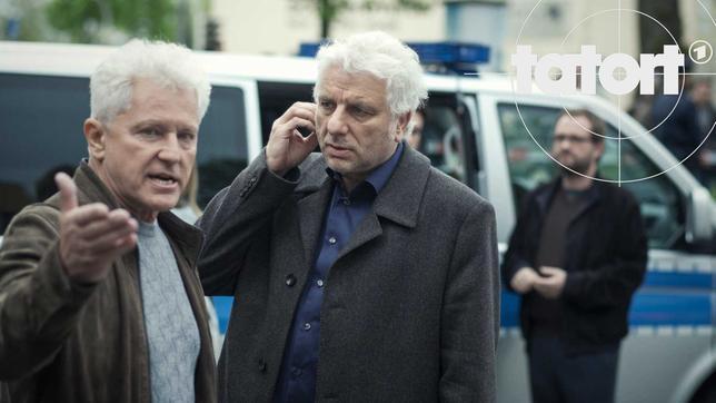 Franz Leitmayr (Udo Wachtveitl) und Ivo Batic (Miroslav Nemec)