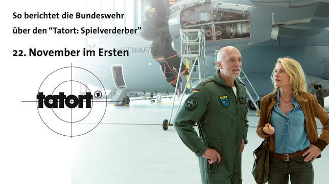 "Tatort ""Spielverderber"" - Dreh bei der Luftwaffe"