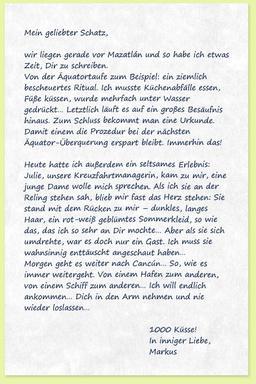 Dritter Brief: Auf hoher See - Sturm der Liebe - ARD   Das