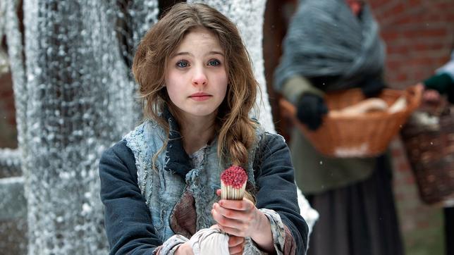 Das Mädchen mit den Schwefelhölzern 6 auf einen Streich Märchen: Inga verkauft Schwefelhölzer