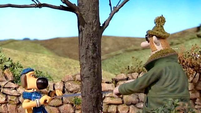Es ist kalt und der Farmer braucht Brennholz. Im Wald hat er kein Glück und so wird der Lieblingsbaum der Schafe auserkoren.