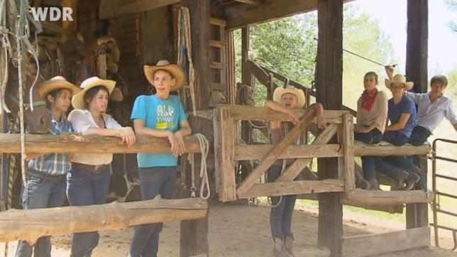 Abenteuer Wilder Westen Folge 10 Das erste Arbeiten mit den Rindern