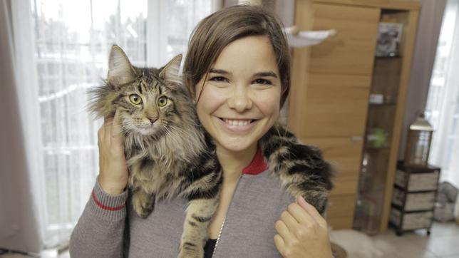 Anna und die Haustiere 09.09.2017 Katze