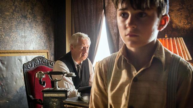 """Adam Halajczyk spielt in der Drama-Serie """"Der Krieg und ich"""" den zehnjährigen polnischen Jungen Romek."""