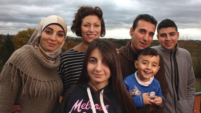 Mayar und ihre Familie