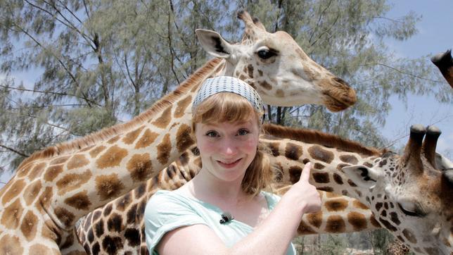 Paula und die wilden Tiere Kopf hoch, Giraffe! 01.03.2014