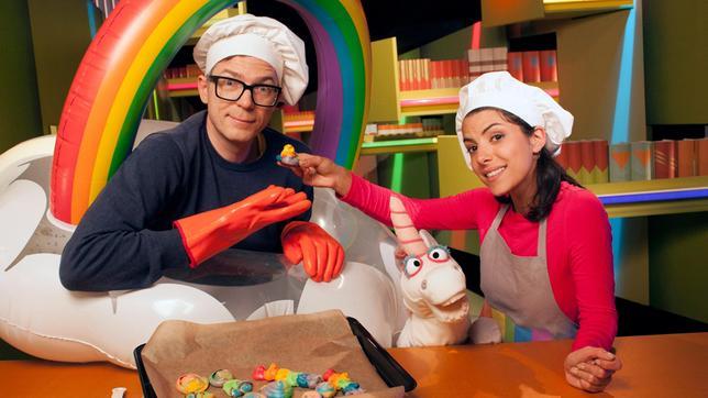 """Clarissa und Ralph beschäftigen sich heute mit dem Thema """"Einhornhaufen (In der Küche mit Clarissa und Ralph)""""."""