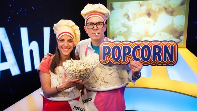 Heute heißt es wieder: Kochschürzen an und ran an den Herd! Clarissa und Ralph machen Popcorn. Und während die Maiskörner fröhlich im Topf nach oben poppen, widmen sich die beiden Hobby-Köche unserem Darm und seiner Verdauungstätigkeit.