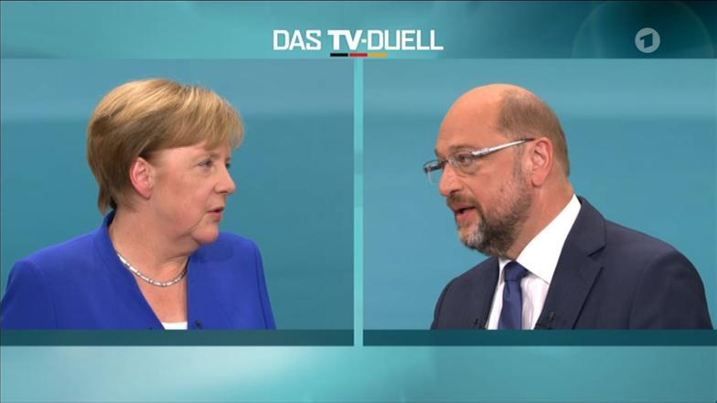 TV-Duell - Bundestagswahl 2017 - ARD | Das Erste