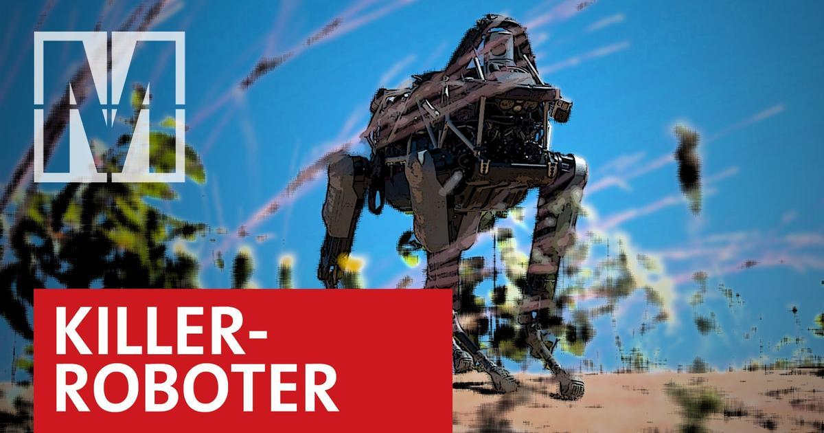 Video: Autonome Waffen - Töten - Monitor - ARD   Das Erste