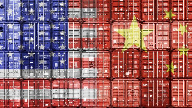 Container, China, USA, Handeslkonflikt