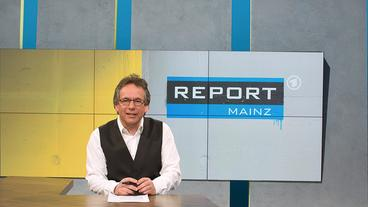 """fritz frey moderiert """"report mainz"""""""
