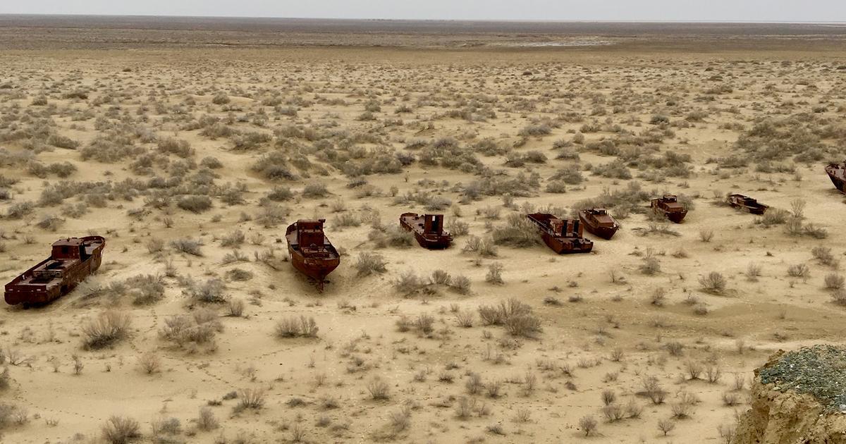Aralsee Wüste