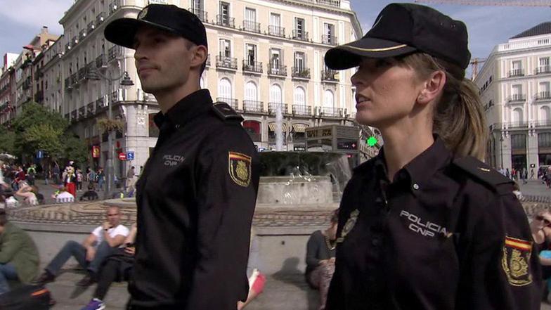 Spanische Polizei