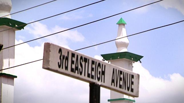 Strassenschild Eastleigh Avenue